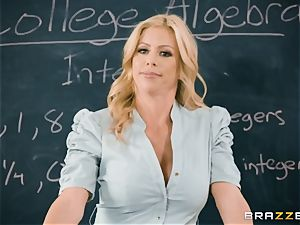 craziness in the classroom with Alexis Fawx and Bailey Brooke