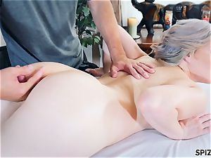Spizoo -yam-sized culo Jessica Ryan get plumbed by a huge hard-on