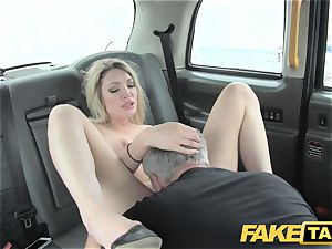 faux taxi super steamy blondie with a excellent body loves pipe
