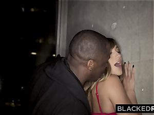 BLACKEDRAW nubile Gets Over Ex By Getting Under big black cock