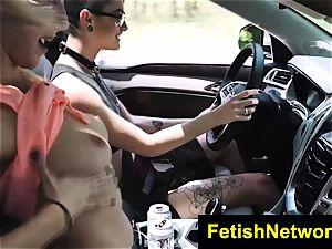 TeensInTheWoods Gina Valentina fuck-fest gimp