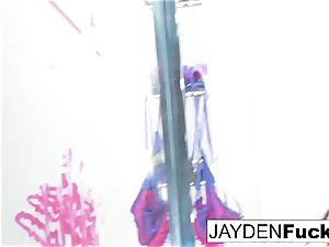 Jayden determines To play With Her amazing gash