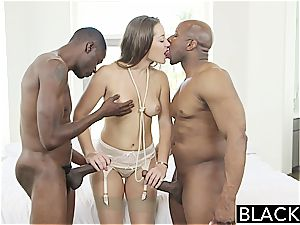 blinding Dani Daniels know how to sate black peckers