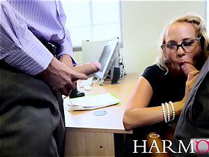 Carla Cox working rock-hard