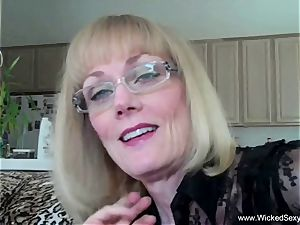 cheating grandmother Is Addicted To cum