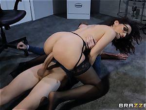 Amina Danger getting screwed by a hefty stiffy